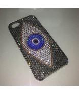 Grey Rhinestone iPhone 6s iPhone 7 Case Evil Eyes iPhone Case 6s Plus 7 ... - $22.00
