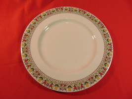 """8"""" Salad Plate, From Royal Doulton, in the Fireglow TC 1080 Pattern. - $13.99"""