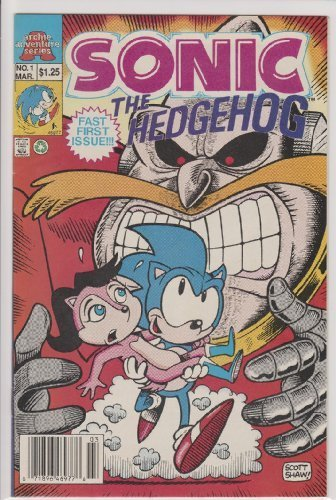 Sonic the Hedgehog Limited Series #1 [Comic]