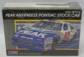 Vintage 1989 MONOGRAM Kyle Petty's Peak Antifreeze #42 Pontiac Stock Car... - $10.00