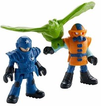 Fisher-Price Imaginext Jurassic World, Park Workers & Pterodactyl - $6.57