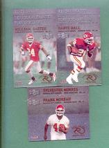 2000 Metal Kansas City Chiefs Football Set  - $3.00