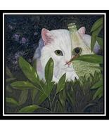 Ladybug and Cat cross stitch chart Cody Country CrossStitch - $9.00