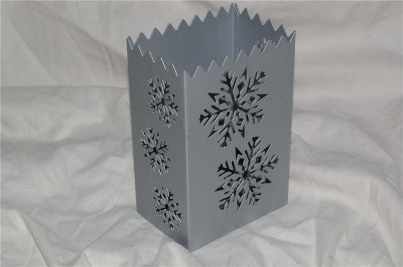 PartyLite Snowflake Luminary Candle Holder Party Lite