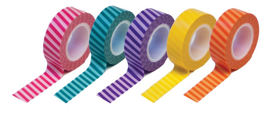 Striped tape gift set