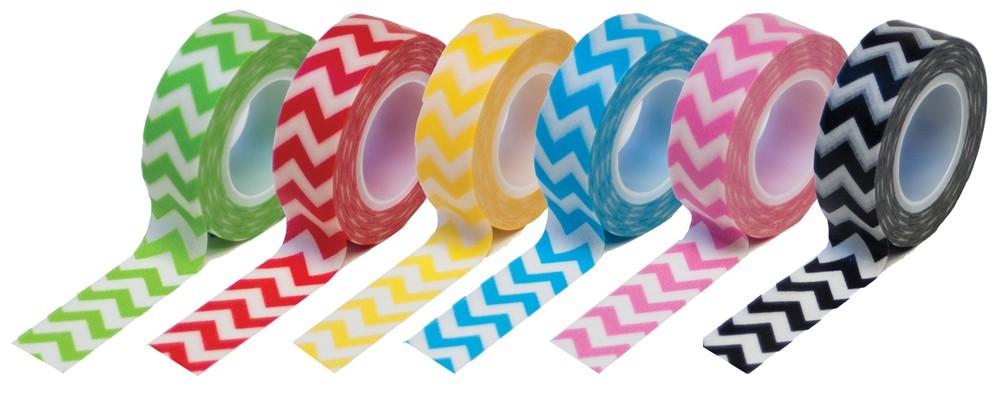 Chevron tape gift set