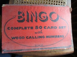Vintage Bingo Game in Box, J. Pressman Co., New York - $15.48