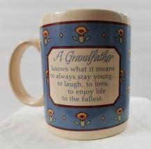 "Vintage Hallmark Mugs 1987 ""A Grandfather"" Coffee Mug Tea Latte Cup Gift - $10.39"