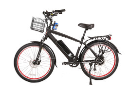 Santa Cruz 48 Volt High Power Long Range Electric Beach Cruiser Bicycle - $1,599.00