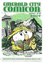 Emerald City Comicon 2009 Official Postcard Owly Andy Runton Art - $3.99