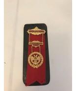 New York Council Of Deliberation Medal Ribbon Pin 1/20 12KGF - $186.07