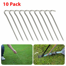 10Pcs Aluminum Tent Pegs Stakes Hook Pin Camping Outdoor Trip Essential ... - $32.90