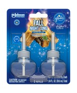Glade PlugIns Refill 2 CT, Fall Night Long, 1.34 FL. OZ. Scented Oil NEW - $10.44