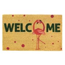 """Flamingo Love Birds Coir Doormat  18""""  x 30"""" - $17.81"""