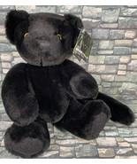 LUNA THE BLACK PANTHER Vermont Teddy Bear PLUSH BEARANIMAL Collection - $98.99