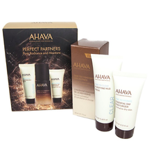 AHAVA Dead Sea Minerals 3PC Set For Face (Mask, Moisturizer, Serum) For Dry Skin - $79.20