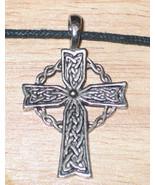 Celtic Cross Celtic Visions Pendant Necklace NEW UNUSED - $7.84