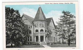 Talcott Hall Oberlin College Ohio 1940s postcard - $6.00