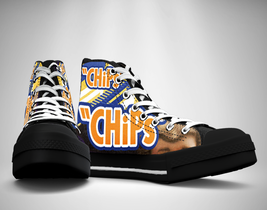 CHiPs 70's tv show Canvas Sneakers Shoes - $49.99
