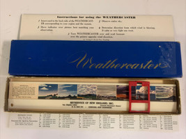 Vintage 1960's WEATHERCASTER Slide Rule w/ Skyservice Of New England Adv... - $46.74