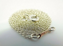 Tiffany & Co Paloma Picasso Sterling Silver Chain Necklace,18in - $60.00