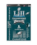 NFL Philadelphia Eagles Super Bowl LII 52 Champions Multi-Use 11x17 Deca... - $15.85