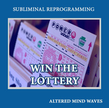 Win the Lottery Subliminal Program - New Subliminal Hypnosis CD - $17.77