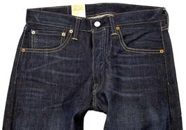 NEW LEVI'S 501 MEN'S ORIGINAL FIT STRAIGHT LEG JEANS BUTTON FLY BLUE 501-1332 image 4