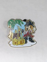 DISNEY MICKEY MOUSE AS PIRATE TREASURE CHEST PIN 2011 - $9.49