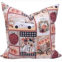 Farmhouse Fall Pillow Cover - Thanksgiving Decor - Farmhouse Fall Decor ... - $19.99