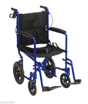 Drive Lightweight Expedition Aluminum Transport Chair  -Blue - $162.95