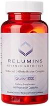 Relumins Advance Nutrition Gluta 1000 - Reduced L-Glutathione Complex - ... - $32.22