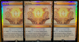 Sol Ring Masterpiece Foil x3 REPACK Kaladesh Inventions MTG PLEASE READ - $6.99