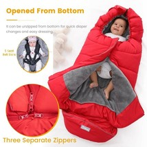 Universal Baby STROLLER Winter Baby Sleeping Bag Waterproof Warm Baby Sl... - $23.41+