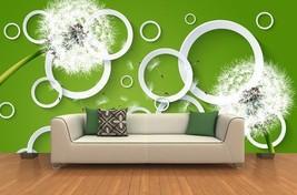 3D Overlapping Kreise 255  Fototapeten Wandbild Fototapete BildTapete Familie - $52.21+