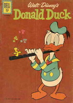 Donald Duck (Walt Disney's…) #80 VG; Dell | low grade comic - save on sh... - $5.25