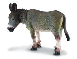 Breyer CollectA 88115 Donkey (grey) well made miniatures  <> - $9.65