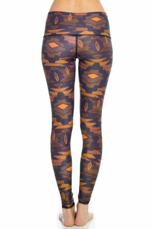 Teeki Mujer Leggings Mediano Pantalones Cortos Pantalones Southern Cross Pilates