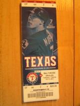 2011 Texas Rangers Full Unused Ticket Stub Vs Baltimore Orioles 7/5 - $0.98
