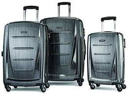 Samsonite Luggage Winfield 2 Fashion HS 3 Piece Set Charcoal - New, FAST... - $396.65