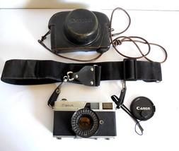 Canonet The First Original Canon 1961 Electric Eye Film Camera, Lens Cap... - $64.00