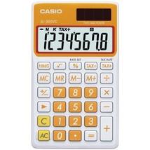 Casio Sl300Vcoesih Orange Solar Wallet Calc - $21.99