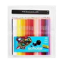 Prismacolor 92807 Scholar Colored Pencils; Soft, Smooth Leads Ideal for ... - $14.94