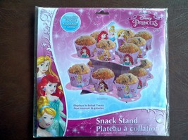 Disney Princess Snack Cupcakes Stand New Birthday party - $7.92