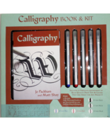 Calligraphy Book Pen Kit 2010 beginner letter art handwriting alphabet  - $19.77