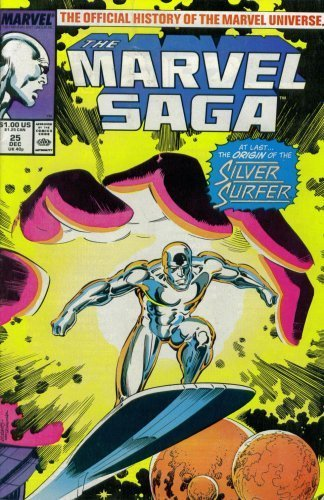The Marvel Saga: The Official History of the Marvel Universe #25 (Marvel Comics)