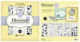 Inkadinkado Spring Blossoms Clear Cling Stamp Set, 130 Pieces #315535 - $19.99