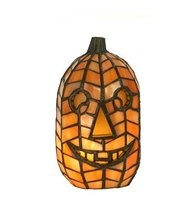 "Meyda Tiffany 68100 Jack O'Lantern Accent Lamp, 8.5"" Height - $149.40"