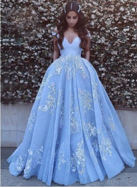 Lyeizd l 610x610 dress blue tulle dress