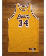 1998-99 Nike Los Angeles Lakers Shaquille O'Neal Pro Cut Jersey 56 + 6 i... - $499.99